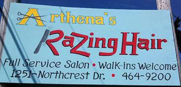 Arthena's Razing Hair