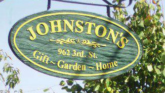 Johnston's Gift, Garden & Home